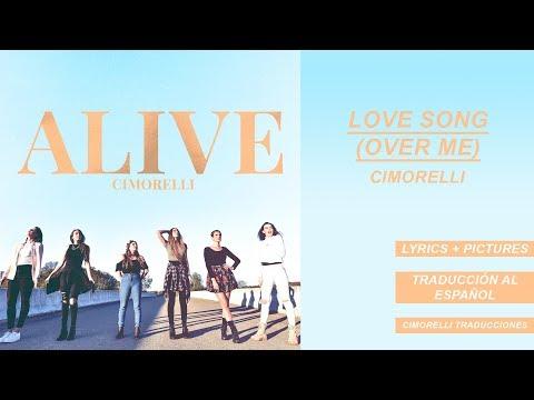 Love Song (Over Me) - Cimorelli (Lyrics + Pictures) // Traducción al español
