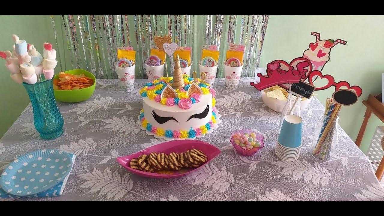 12 Year Old Girl Birthday Party Vlog Unicorn Party Ideas Youtube
