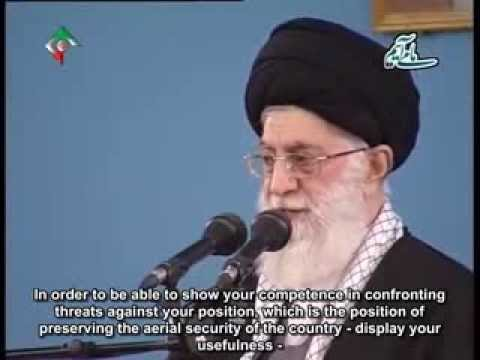[English Sub]  Speech in Meeting with Air Force personnel - Ayatullah Ali Khamenei - Feb 2014