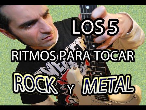 LOS 5 RITMOS NECESARIOS PARA TOCAR ROCK Y METAL