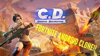 FORTNITE ON ANDROID?! -Creative Destruction-
