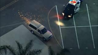 07/13/2016 Los Angeles Police Chase LASD 2016 - Female Carjacking Suspect
