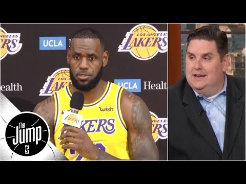 Reacting to LeBron James' media day comments | The Jump | ESPN