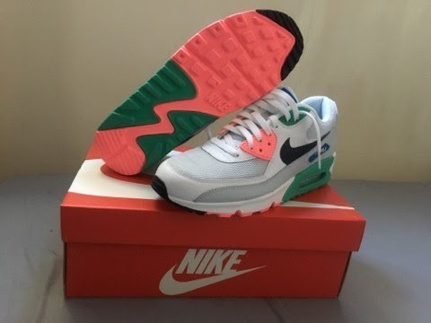 Nike Air Max 90 South Beach  Watermelon Review and On Foot - YouTube 7a41ca188