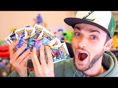 OPENING x100 SHINING POKEMON CARDS!