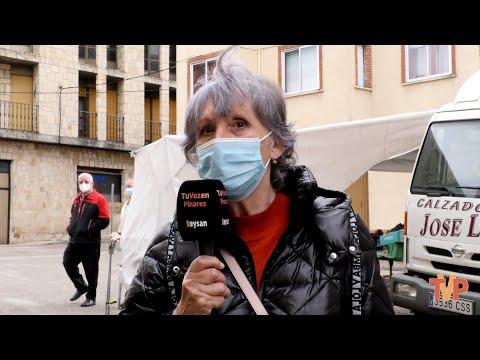 Entrevista a Yolanda Lázaro, presidenta de la Asociación Amas de Casa Santa Julita en Covaleda