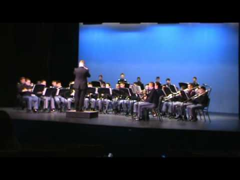Army and Navy Academy Band Valdres March February 2015