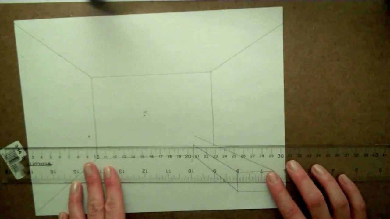 Couch Drawing drawing a couch in one-point perspective, part 1 - youtube