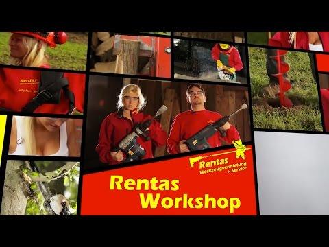 Video Die Rasenschälmaschine - Rentas Werkzeugvermietung