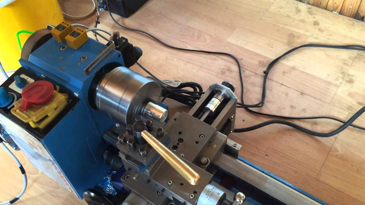 Els mini lathe digital limit cutting thread arduino