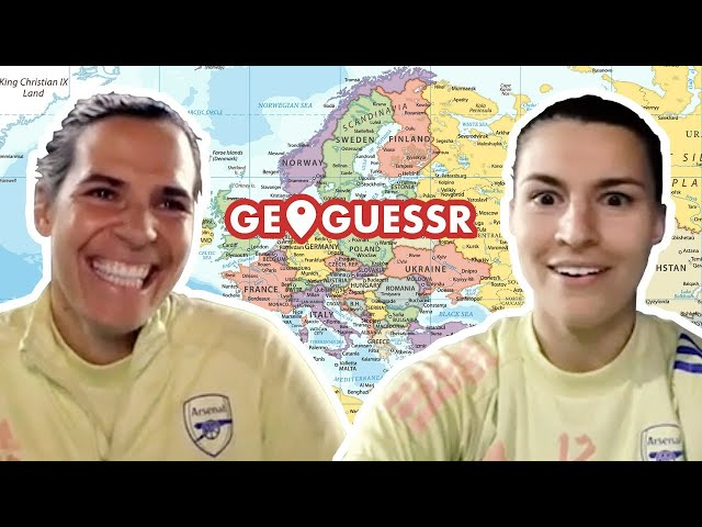 🤣 'We'll study for this next time!' | Lydia Williams & Steph Catley | Geoguessr