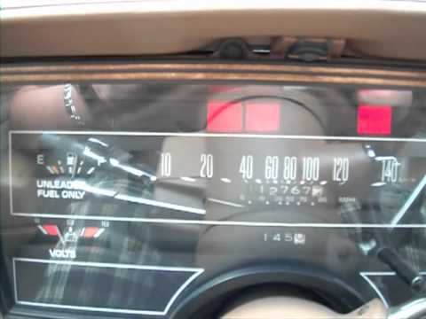 1985 Buick Century Limited 2.8L V6 LOW KM'S - YouTube