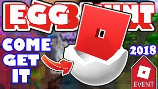 LAST CHANCE TODAY - GET YOUR EGGMIN EGGS WHILE YOU CAN! - Roblox Egg Hunt 2018 Admin Egg Giveaway