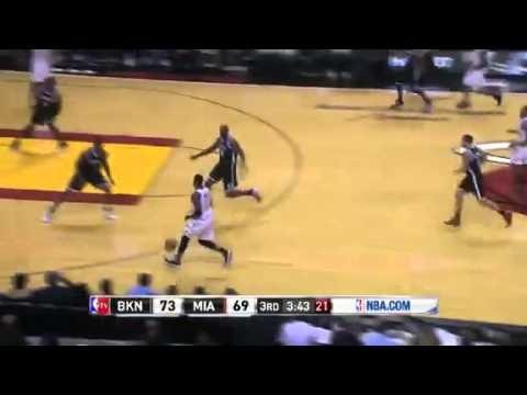 Miami Heat vs Brooklyn Nets (Game Recap) December 1, 2012