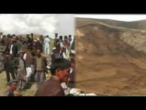 Landslide in North Afghanistan kills 350