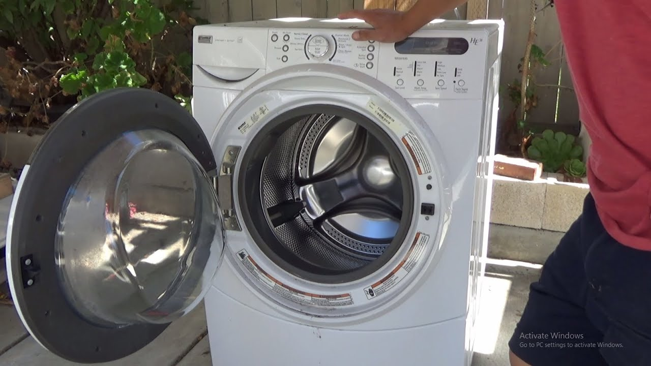 Washing Machine Inside ~ What s inside washing machine tear down side loading