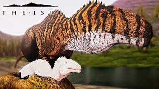 The Isle - BABY ACRO NESTING & HATCHING, BABY ALLO HUNTING & VELO FIGHTS BABY SPINO! ( Gameplay )