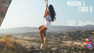 Maroon 5 - Girls Like You Ft. Cardi B Volume 2 8d