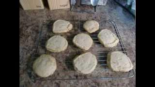薰衣草曲奇 (lavender Cookies)