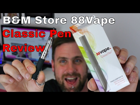 B&M Store Vape Pen Classic from 88Vape Review | Soulvapes Reviews