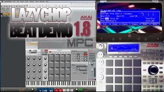 Akai MPC v1.8 | Lazy Chop | Live Beat | MPC Renaissance | MPC Studio