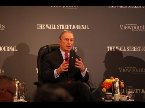Mayor Bloomberg Attends Panel Discussion for the Wall Street Journal Viewpoints Executive Breakfast