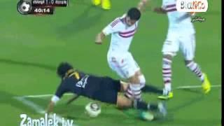 ملخص مباراة الزمالك و وادي دجله 3-2 الدوري المصري