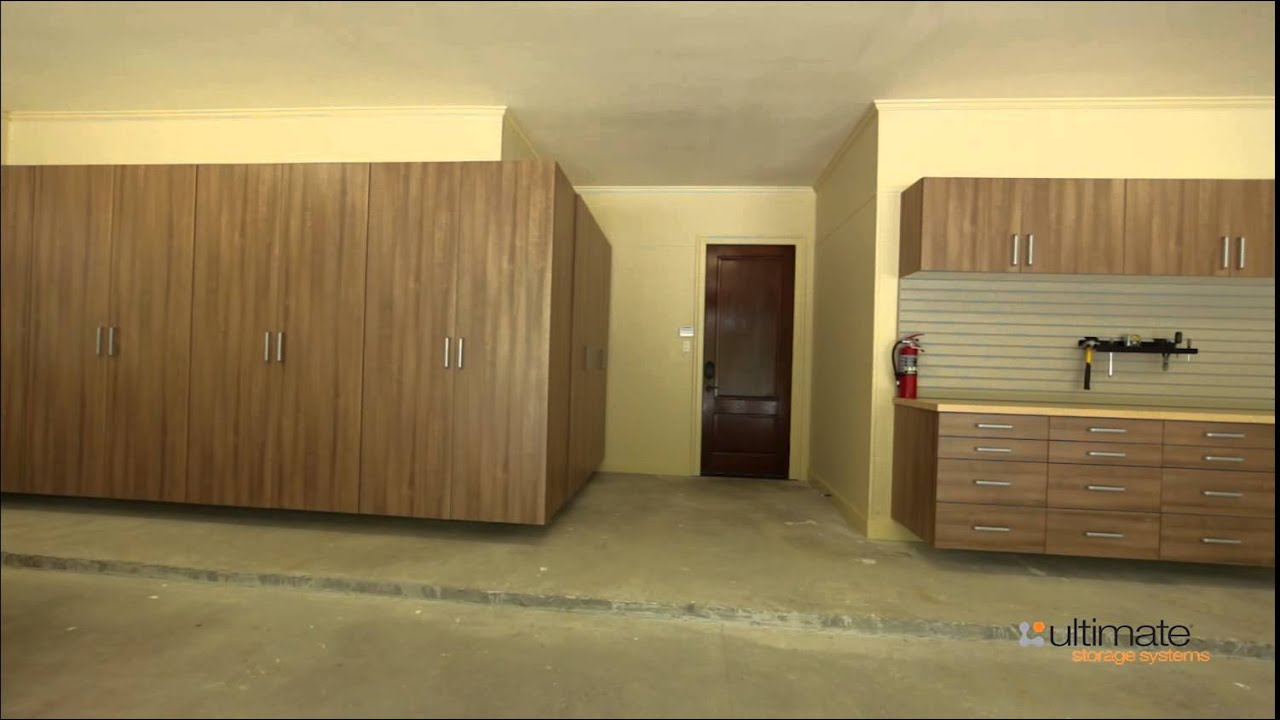 Ultimate Closet Systems Garage Youtube