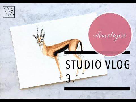 STUDIO VLOG - ILLUSTRATING AND BEING LONELY AS A FREELANCER?