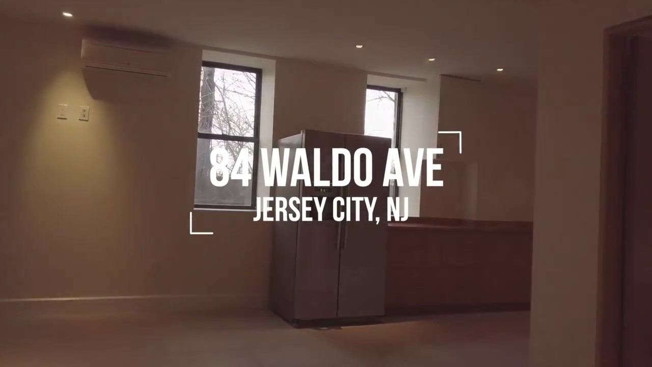 New contemporary Jersey City Apartment - YouTube