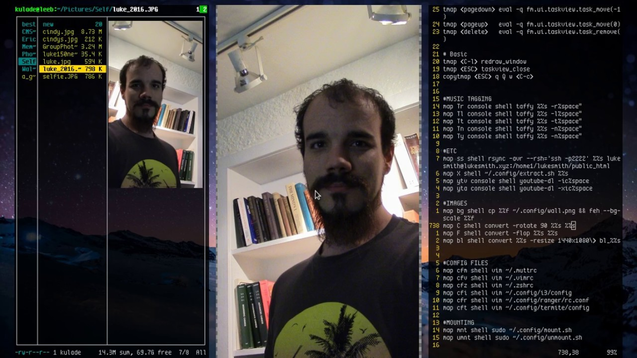 Ranger the Terminal File Manager (Going deeper into configuration)
