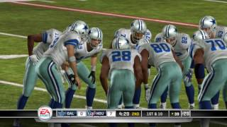 Madden NFL 11 PS3 Dallas Cowboys vs Houston Texans
