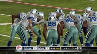 Madden NFL 11 PS3 Dallas Cowboys vs Houston Texans