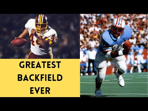 [OC] [Highlight] In 1984, after John Riggins set the NFL record for most rushing TDs in a season (24), Washington almost pulled off a trade with the Oilers to acquire RB Earl Campbell. This is the story of how Washington almost managed to have the greatest backfield in NFL history