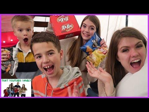 BRO vs SIS FORT WARS!!! / That YouTub3 Family
