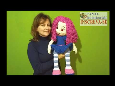 Rubi Doll - Amigurumi Doll Crochet Doll PDF file by Elena Akkoca ...   360x480