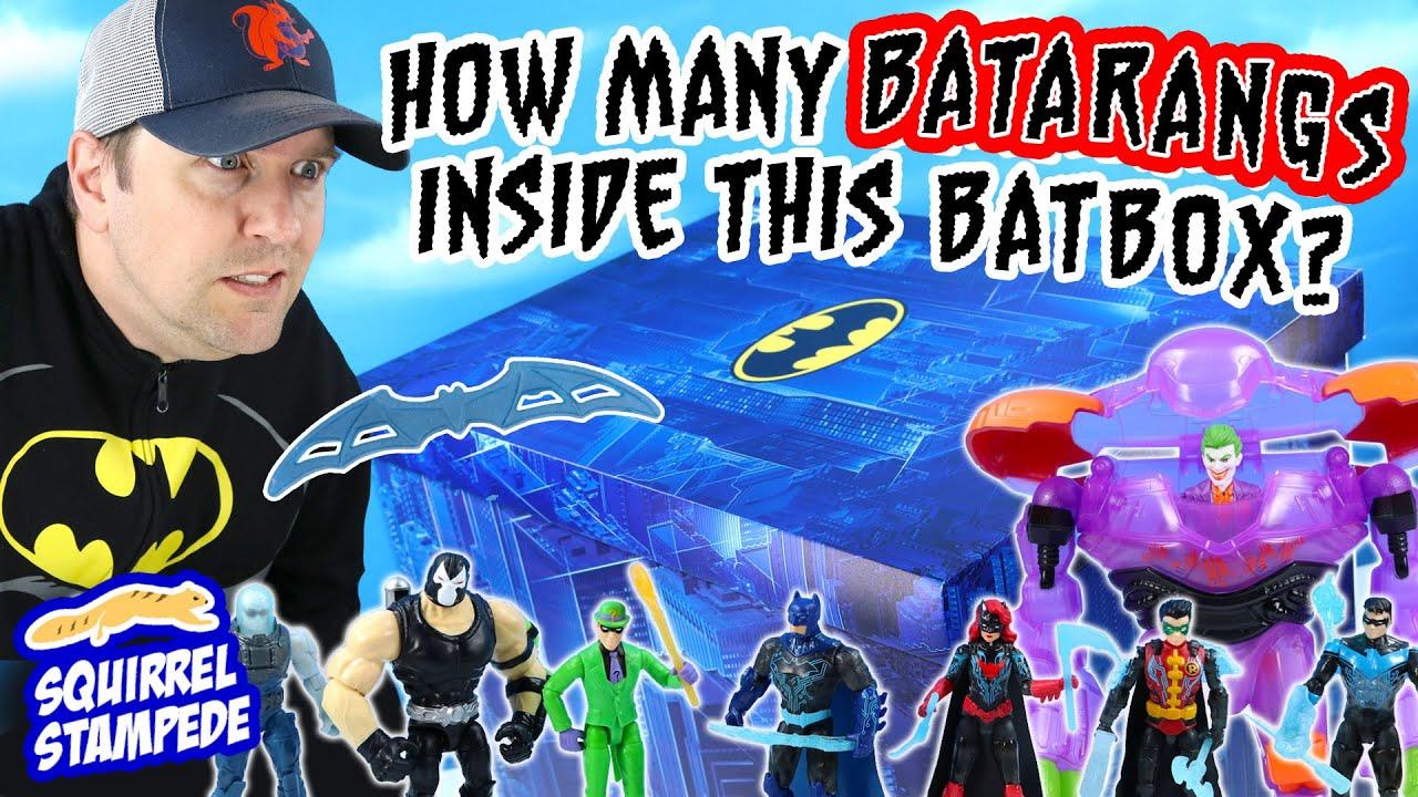 Batman Bat Tech Armor Series Unboxing Spin Master 2021