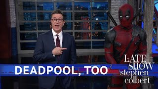 Deadpool Takes Over Stephen's Monologue