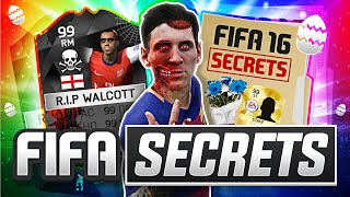 YOU WONT BELIEVE THESE FIFA SECRETS!! - (FIFA 16 Easter Eggs)