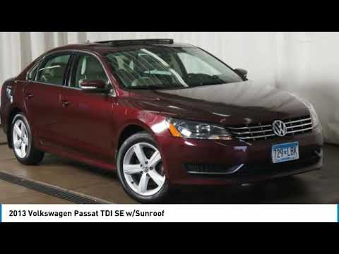 2013 Volkswagen Passat Minneapolis, St Cloud, Elk River, Monticello, MN 29494A