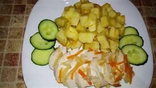Курица с сельдереем в апельсиновом фреше ! Ешьте и худейте !!!