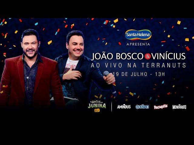 João Bosco e Vinicius Ao Vivo na Terranuts   #FiqueEmCasa e Cante #Comigo - João Bosco & Vinícius