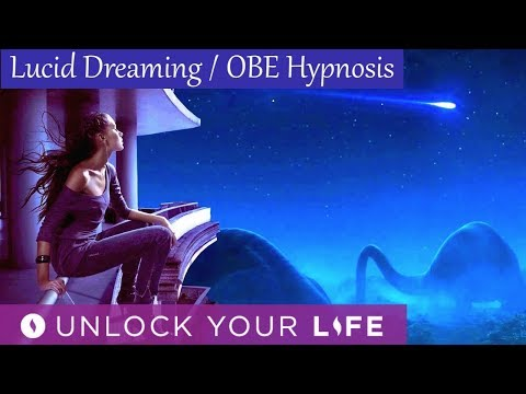 Lucid Dreaming OBE Hypnosis   Transform 3D Reality to Dream Reality