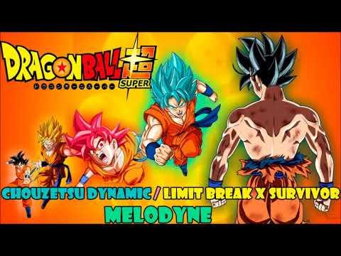 Chouzetsu Dynamic / Limit Break X Survivor ( DBS OP 1 y 2) covers latinos by Melodyne