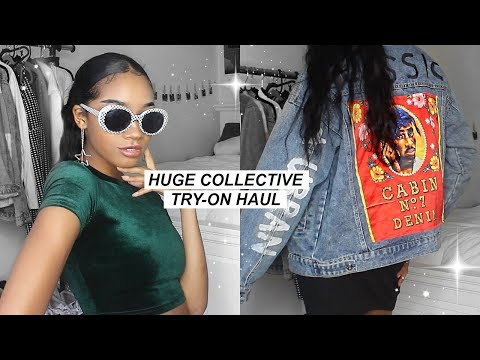 HUGE COLLECTIVE TRY-ON HAUL! (Lookbook Style) | Super Affordable!