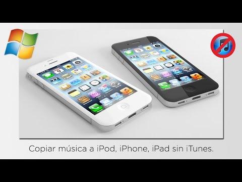 Cómo pasar música al iPhone, iPod, iPad sin iTunes [WINDOWS]