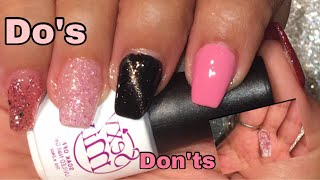 How to :DIY Nails at Home!/Polygel/Dos and Don'ts