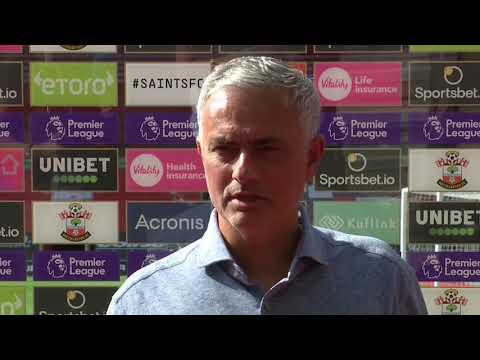 Southampton Vs Tottenham - 2-5- Jose Mourinho Post-match Interview- Premier League 2020