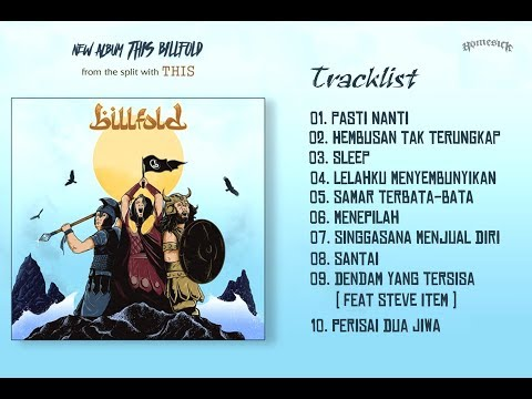 BILLFOLD - THIS BILLFOLD 2017 (Full Album) | Album Terakhir