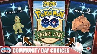 WHAT'S THE BEST CHOICE? 4 COMMUNITY DAY OPTIONS - FEBRUARY 2020 + NEW SAFARI ZONES   POKÉMON GO